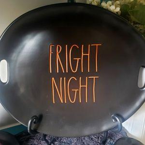 Rae Dunn Fright Night Tray